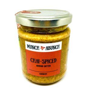 Munch A Bunch Chai Spiced Almond Butter